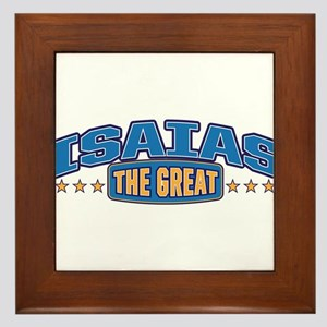 The Great Isaias Framed Tile