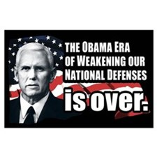 Mike Pence Defense Quote Large Poster