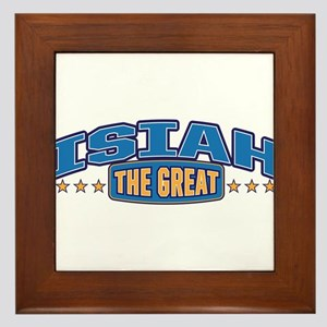 The Great Isiah Framed Tile