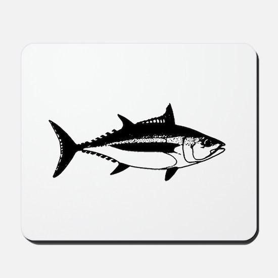 Longfin Albacore Tuna Mousepad