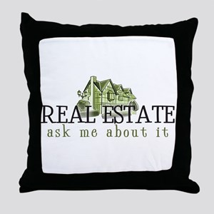 RE ASK ME 2 Throw Pillow