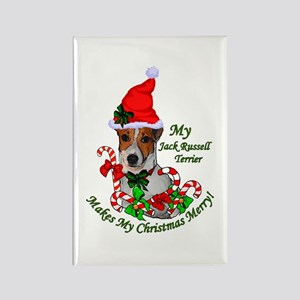 Jack Russell Terrier Ch Rectangle Magnet (10 pack)