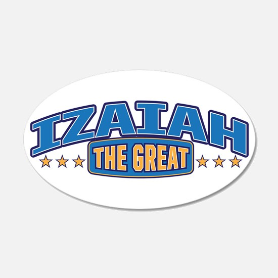 The Great Izaiah Wall Decal