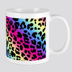 Neon Leopard Print Mug