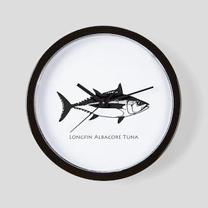 Longfin Albacore Tuna Wall Clock