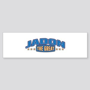 The Great Jadon Bumper Sticker