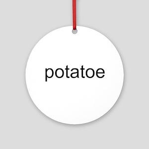 potatoe Ornament (Round)