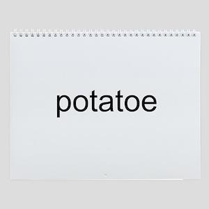 potatoe Wall Calendar