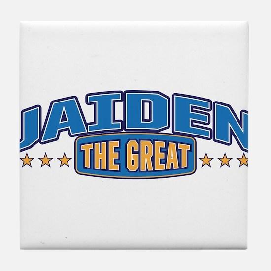 The Great Jaiden Tile Coaster