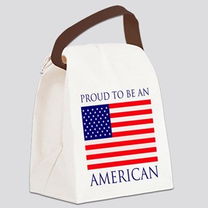Proud American Canvas Lunch Bag