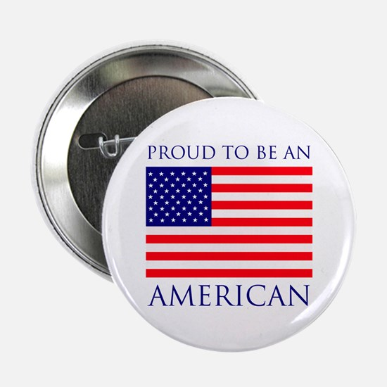 "Proud American 2.25"" Button (10 pack)"