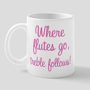 Funny Flute Mug