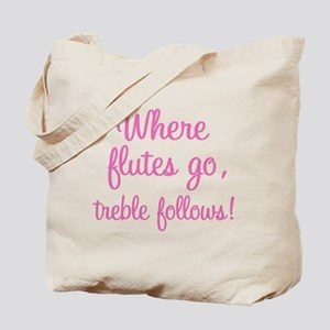 Funny Flute Tote Bag