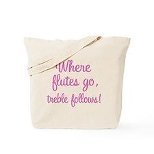 Funny Flute Tote Bag