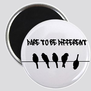 Dare to be Different Birds on a wire Magnet