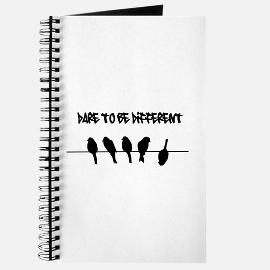 Dare to be Different Birds on a wire Journal