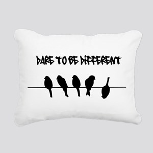 Dare to be Different Birds on a wire Rectangular C
