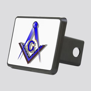 Masonic Square and Compass Rectangular Hitch Cover