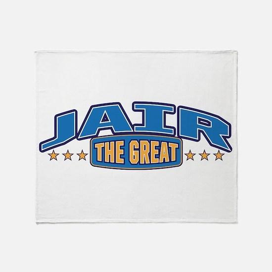 The Great Jair Throw Blanket