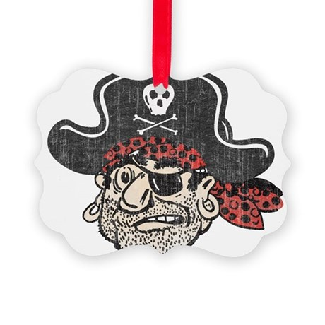 Throwback Pirate Ornament