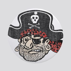 Throwback Pirate Ornament (Round)