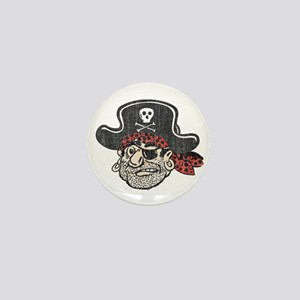 Throwback Pirate Mini Button