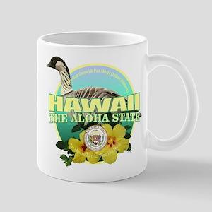 Hawaii State Bird & Flower Mugs