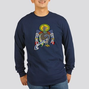 Kells Eagle Long Sleeve Dark T-Shirt
