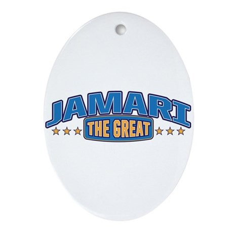 The Great Jamari Ornament (Oval)