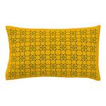 Field of Orange Flowers Pillow Case