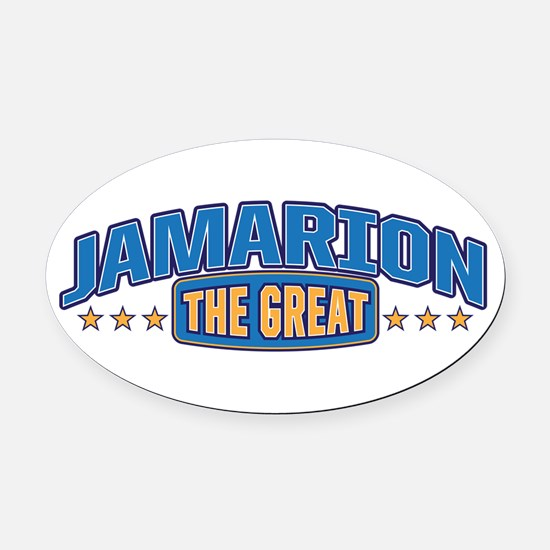 The Great Jamarion Oval Car Magnet