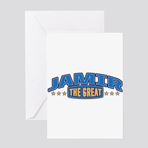 The Great Jamir Greeting Card