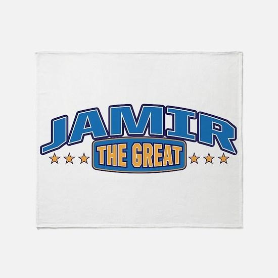The Great Jamir Throw Blanket
