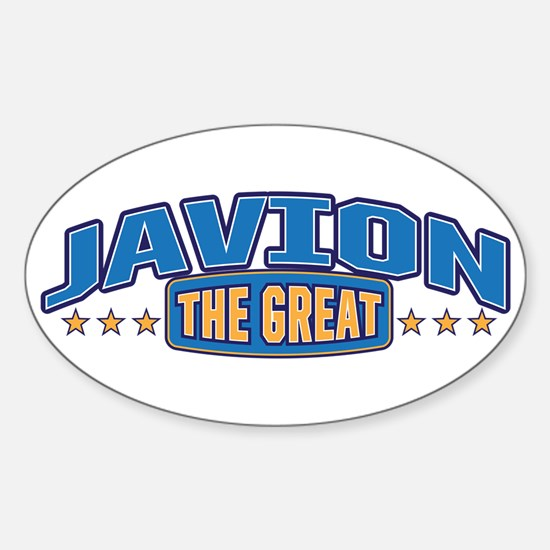 The Great Javion Decal