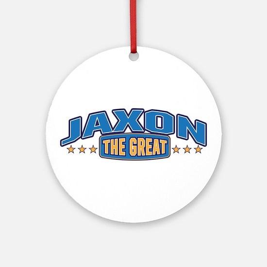 The Great Jaxon Ornament (Round)