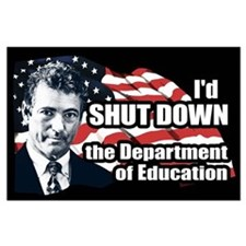 Rand Paul Education Quote Large Poster