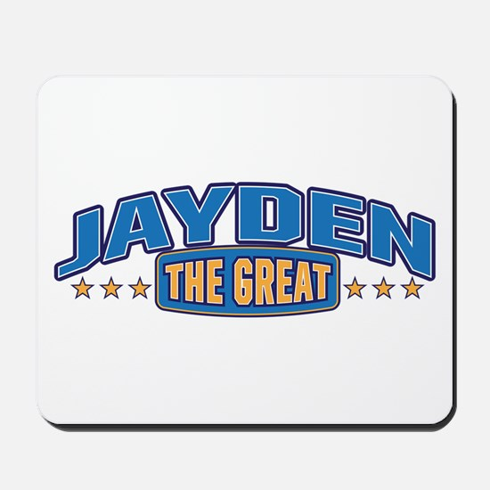 The Great Jayden Mousepad