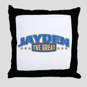The Great Jayden Throw Pillow