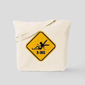 Fairy Crossing Tote Bag