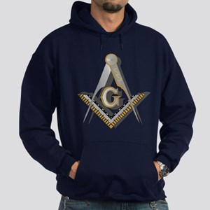 Masonic Square and Compass Hoodie (dark)
