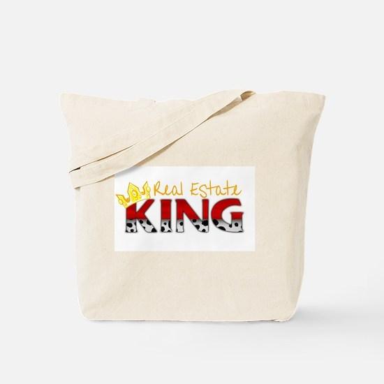 Real Estate King Tote Bag