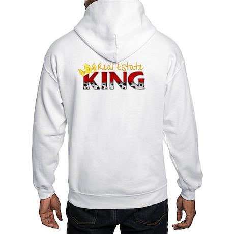Real Estate King (on back) Hooded Sweatshirt