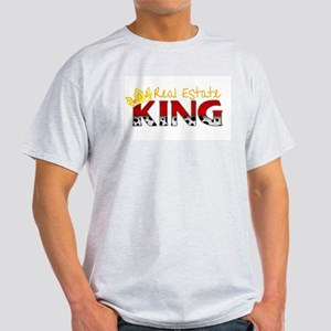 Real Estate King Ash Grey T-Shirt