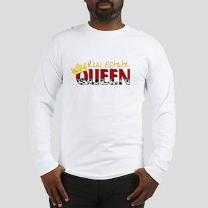Real Estate Queen Long Sleeve T-Shirt