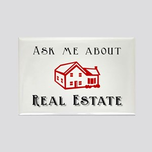 Real Estate Rectangle Magnet