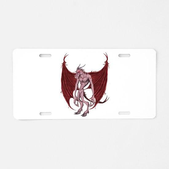 JERSEY DEVIL Aluminum License Plate
