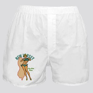 New Jersey Pinup Boxer Shorts