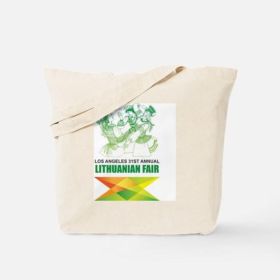 Cute Lithuanian fair Tote Bag