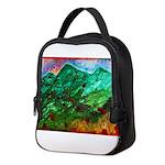 Green Mountains Neoprene Lunch Bag