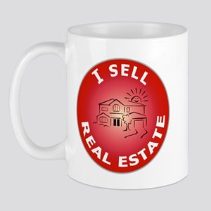 I SELL Real Estate Circle- Mug